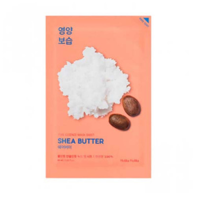 Маска тканевая питающая с маслом Ши Holika Holika Pure Essence Mask Sheet Shea Butter 20мл: фото