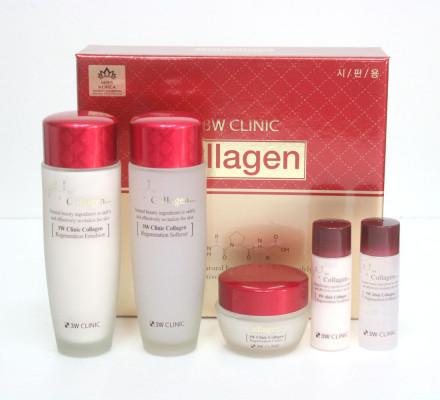 Набор для ухода за лицом 3W CLINIC Collagen Skin Care 3 Items Set: фото