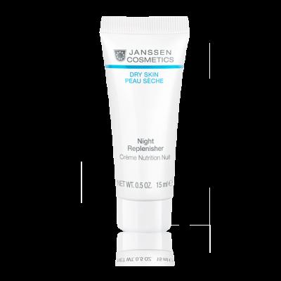 Крем питательный ночной регенерирующий Janssen Cosmetics NIGHT REPLENISHER 15мл: фото