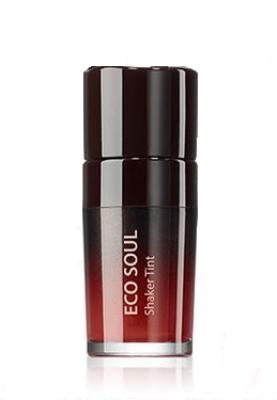 Тинт для губ двухслойный THE SAEM Eco Soul Shaker Tint RD01 Bloody Day 10гр: фото