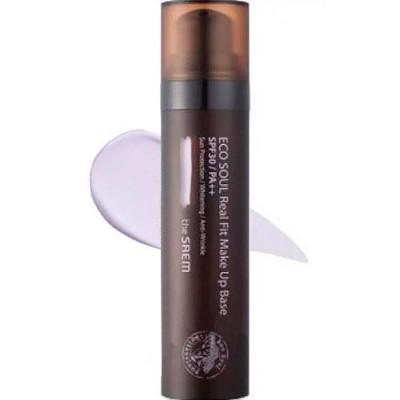 База под макияж THE SAEM Eco Soul Real Fit Makeup Base 02 Larvender 40мл: фото