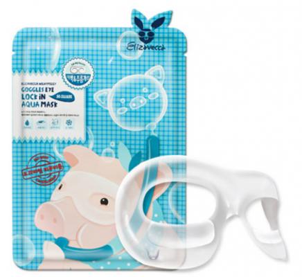 Патчи для области вокруг глаз Elizavecca Goggles Eye Lock In Aqua Mask 10мл: фото
