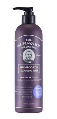 Шампунь для ослабленных волос The Face Shop Dr.Schwarz Thinning Hair Shampoo 380 мл: фото