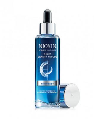 Сыворотка ночная для увеличения густоты волос Nioxin 3D Density Rescue 70 мл: фото