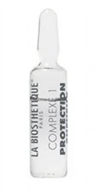 Ампульный концентрат с мощным молекулярным комплексом защиты волоса. Комплекс1 La Biosthetique La Biosthetique Power Concentrate Complexe1 4мл: фото