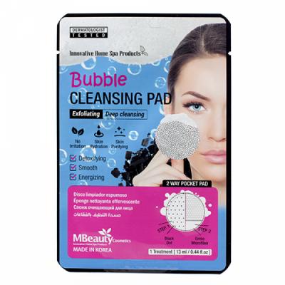 Пенящаяся очищающая подушечка для лица MBEAUTY BUBBLE CLEANSING PAD, 1шт: фото