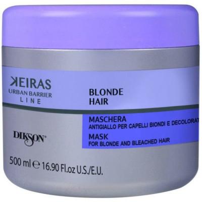 Маска для обесцвеченных волос Dikson MASK FOR BLONDE AND BLEACHED HAIR 500мл: фото