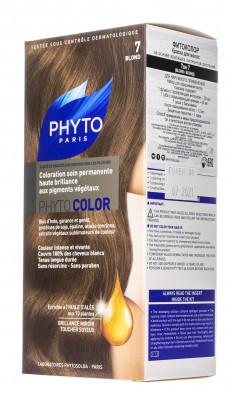 Краска для волос PHYTOSOLBA PHYTOCOLOR №7 Блонд СДВОЙКА: фото