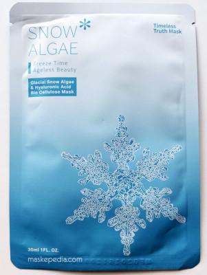 Маска альгинатная увлажняющая anti-age Janssen Cosmetics Snow algae hydrating 15г: фото