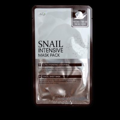 Маска тканевая с муцином улитки Secret Key Snail Intensive Mask Pack sheet 20г: фото