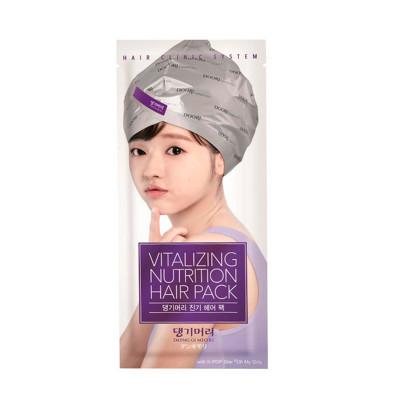 Маска-шапочка для волос питательная Vitalizing nutrition Hair Pack with hair cap 35г: фото