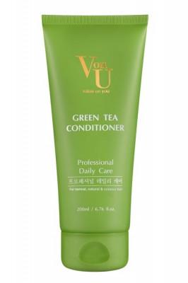 Кондиционер для волос с зеленым чаем Von U Green Tea Conditioner 200 мл: фото