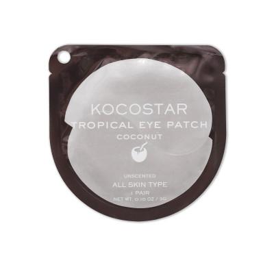 Патчи для глаз гидрогелевые Кокос Kocostar Tropical Eye Patch Coconut 3 г: фото