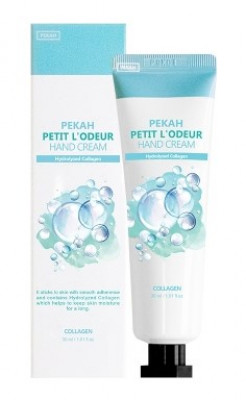 Крем для рук с коллагеном PEKAH Petit L'Odeur Hand Cream Collagen 30 мл: фото