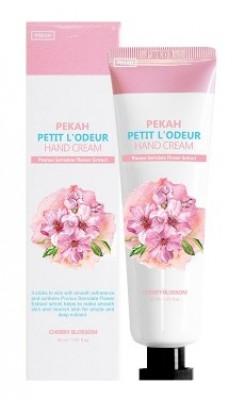 Крем для рук с экстрактом вишни PEKAH Petit L'Odeur Hand Cream Cherry Blossom 30 мл: фото