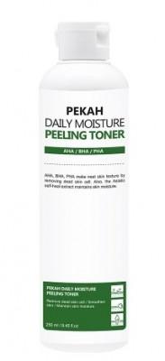 Тонер-пилинг для лица на основе спаржевой капусты PEKAH Daily Moisture Peeling Toner 250 мл: фото