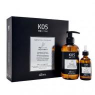 Набор Kaaral К-05: Тонизирующий шампунь для волос 250 мл + Укрепляющий лосьон для волос 50 мл: фото