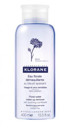 Мицеллярная вода для снятия макияжа с экстрактом василька KLORANE 400 мл: фото