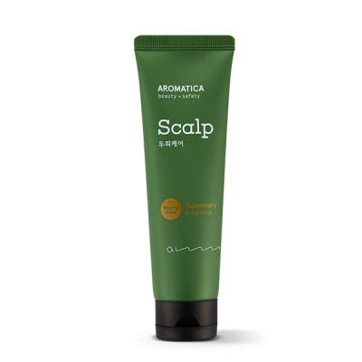 Скраб для кожи головы с розмарином AROMATICA Rosemary Scalp Scrub 165мл: фото