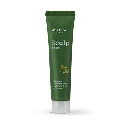 Маска укрепляющая для кожи головы с розмарином AROMATICA Rosemary Scalp 3-in-1 Treatment 110мл: фото