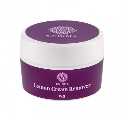 Кремовый ремуверEnigma с ароматом лимона 15 г: фото