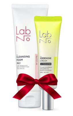 Набор LabNo Set: Крем для век Cream for Face & Eyes + Пена для умывания 4SP Mild Cleansing Foam: фото
