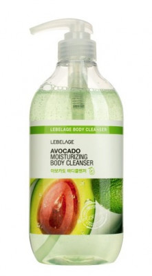 Гель для душа смягчающий с экстрактом авокадо LEBELAGE AVOCADO MOISTURIZING BODY CLEANSER 500мл: фото