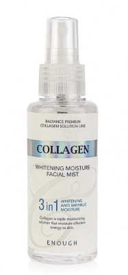 Мист для лица отбеливающий Enough Collagen Whitening Moisture Facial Mist 3in1 100мл: фото