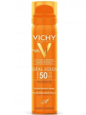 Освежающий спрей-вуаль для лица VICHY CAPITAL IDEAL SOLEIL КС-20 SPF50 75мл: фото