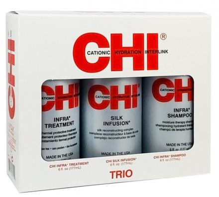 Набор для волос CHI INFRA TRIO KIT: фото