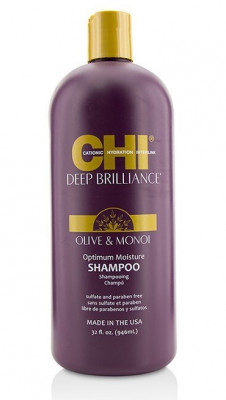 Шампунь Оптимальное Увлажнение CHI Deep Brilliance Olive & Monoi Optimum Moisture Shampoo 946 мл: фото